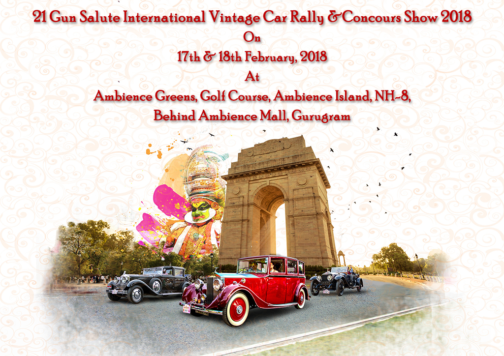 21 Gun Salute International Vintage Car Rally & Concours Show